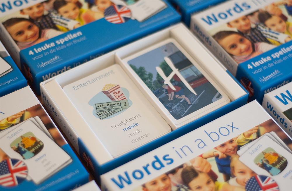 Nieuw van Holmwood's: Words in a box